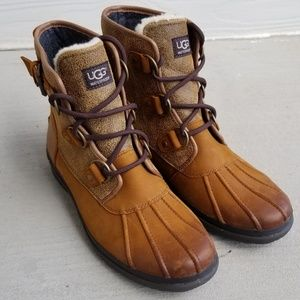 UGG Cecile Waterproof Duck Boots
